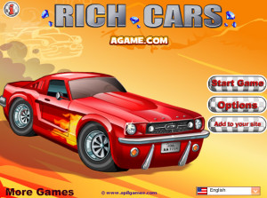 Click Here to play Rich Cars 1