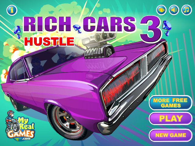 Click Here to play Rich Cars 3